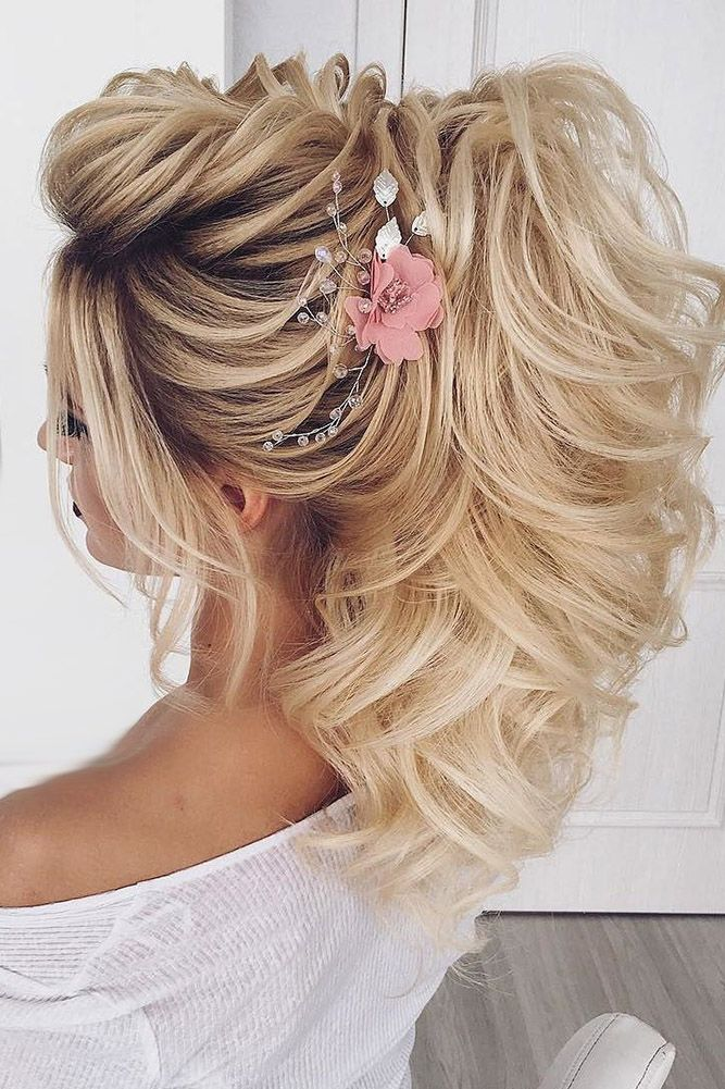 33 Oh So Perfect Curly Wedding Hairstyles ❤ curly wedding hairstyles blond pony nadigerber ❤ See more: http://www.weddingforward.com/curly-wedding-hairstyles/ #weddingforward #wedding #bride #curlyweddinghairstyles
