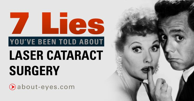"7 LIES YOU'VE BEEN TOLD ABOUT LASER CATARACT SURGERY | Millions of dollars have been spent by the manufacturers of #cataract surgery lasers to convince both doctors and their patients that ""laser cataract surgery"" is superior to cataract surgery performed without a laser..."