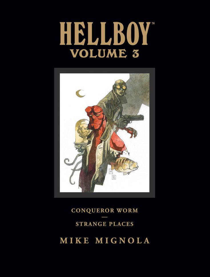 Hellboy Library Edition Vol. 3 by Mike Mignola and Various (DarkHorse Comics)