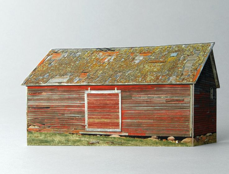 Miniature model houses build