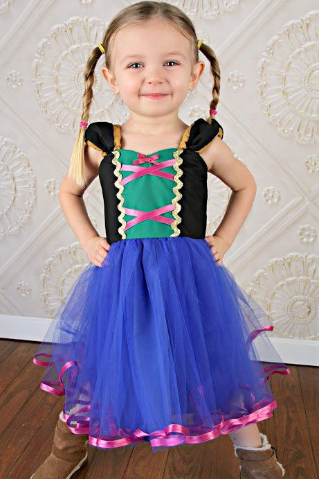 ANA TUTU dress princess dress for birthday party dress or portrait on Etsy, $58.00