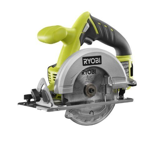Ryobi One P504G 18V Cordless Circular Saw 5-1/2 inch (Battery and Charger Not Included)) Ryobi