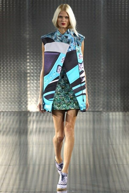 Spring Summer 2014 Ready-to-Wear- Mary Katrantzou  Mary Katrantzou shows us that her creativity meets no boundaries, and this collection stands as proof of her printastic spirit.