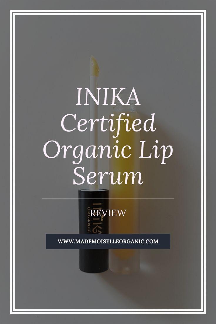 INIKA Certified Organic Lip Serum - Review