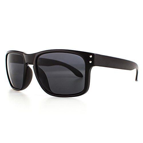 Modische Herren-Designer-Sonnenbrille, 100% UV Schutz, polarisiert (gold/braun, Glas braun)