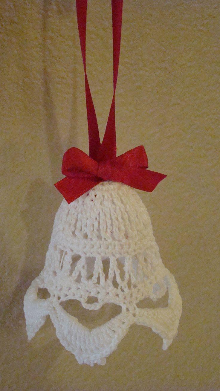 92 best crochet bells images on pinterest christmas for Knitted christmas bells