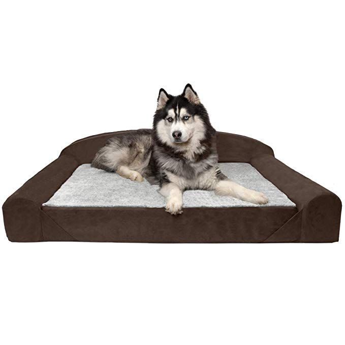 Furhaven Pet Dog Bed Goliath Pet Sofa For Dogs Cats French Roast Jumbo Dog Pet Beds Orthopedic Dog Bed Pet Sofa Bed