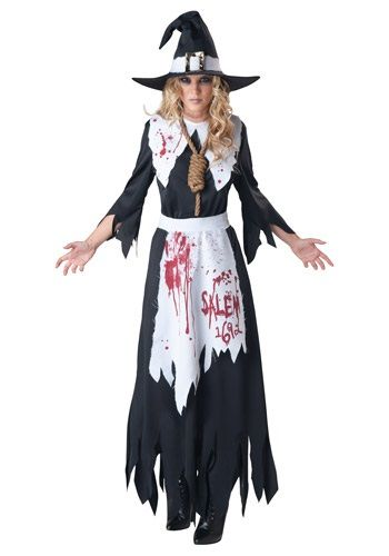 You'll be set to terrorize the town in this Salem Witch Costume. Just be sure to watch out for angry mobs this Halloween!