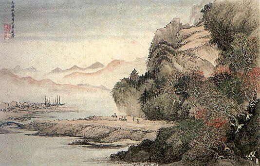 Wang Hui: Paisagem, Dinastia Qing