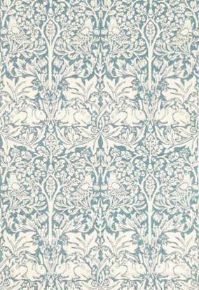 William Morris Brer Rabbit Tapet