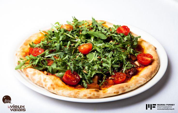 Restaurant Ovronnaz, Pizza Vieux Valais