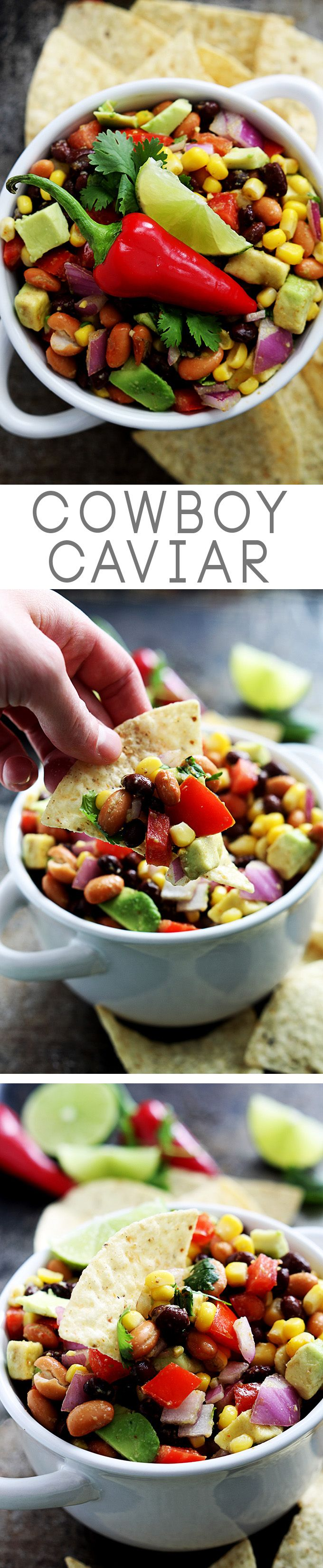This 5-minute party appetizer is always a hit! Healthy, loaded with fun flavors, and SO easy!