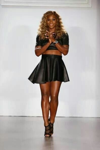 Serena Williams! Simply Beautiful!  Go Serena! You Are a Champion for woman!