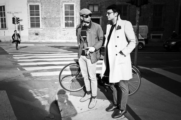 """Twelveth picture in Fabio Attanasio's blog post """"MERANO COAT"""". Model: Fabio Attanasio."""