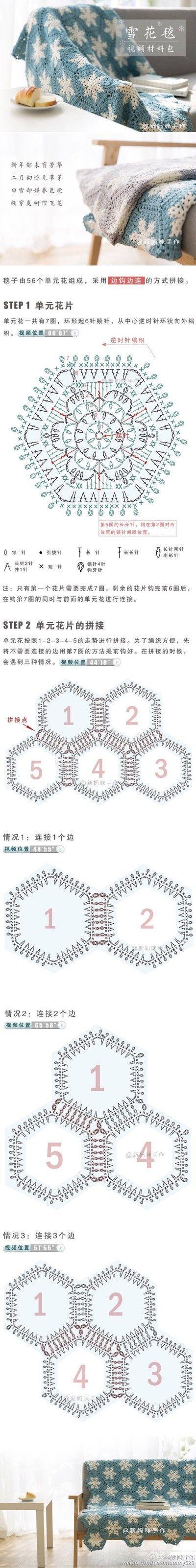 lovely crochet granny square diagram