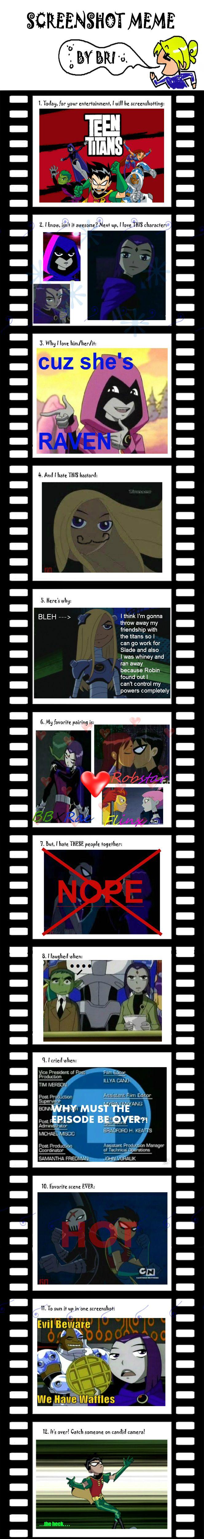 Teen Titans Screenshot meme :D by SierraFaith.deviantart.com on @DeviantArt