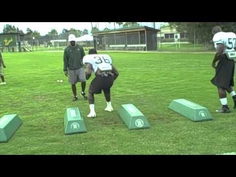 Linebacker Bag Drills Youtube Coaching Football