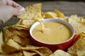 Image result for dipped in nacho cheese