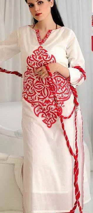 The Asian Threads...This is my favorite! I love red and white, and blue and white in summer. Must find!