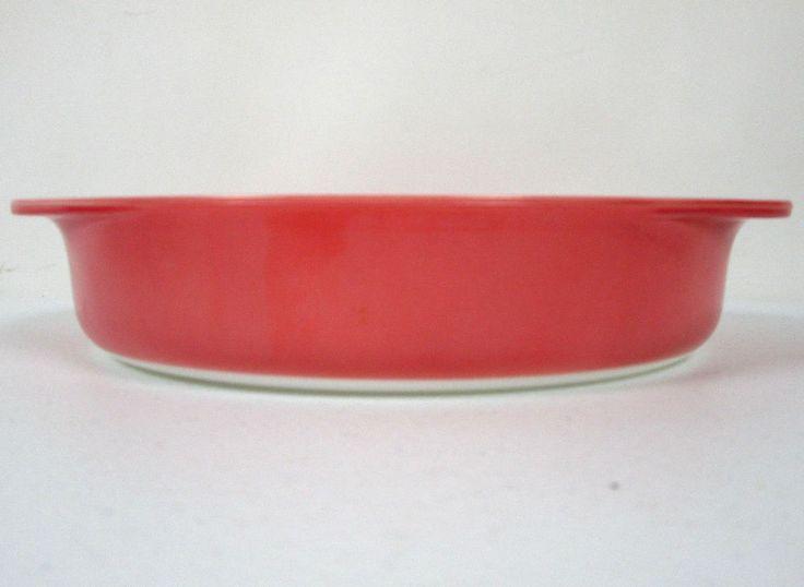 Vintage Pink Pyrex 8 Inch Pie Plate Dish # 28 Primary Color #Pyrex & 91 best Vintage Pyrex images on Pinterest | Vintage pyrex Bowls and ...