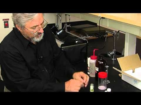 Thin Layer Chromatography Demonstrated by Mark Niemczyk, PhD