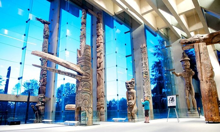 University of British Columbia Museum of Anthropology - Vancouver: University of British Columbia Museum of Anthropology Visit for One, Two, or Family of Up to Six (Up to 61% Off)