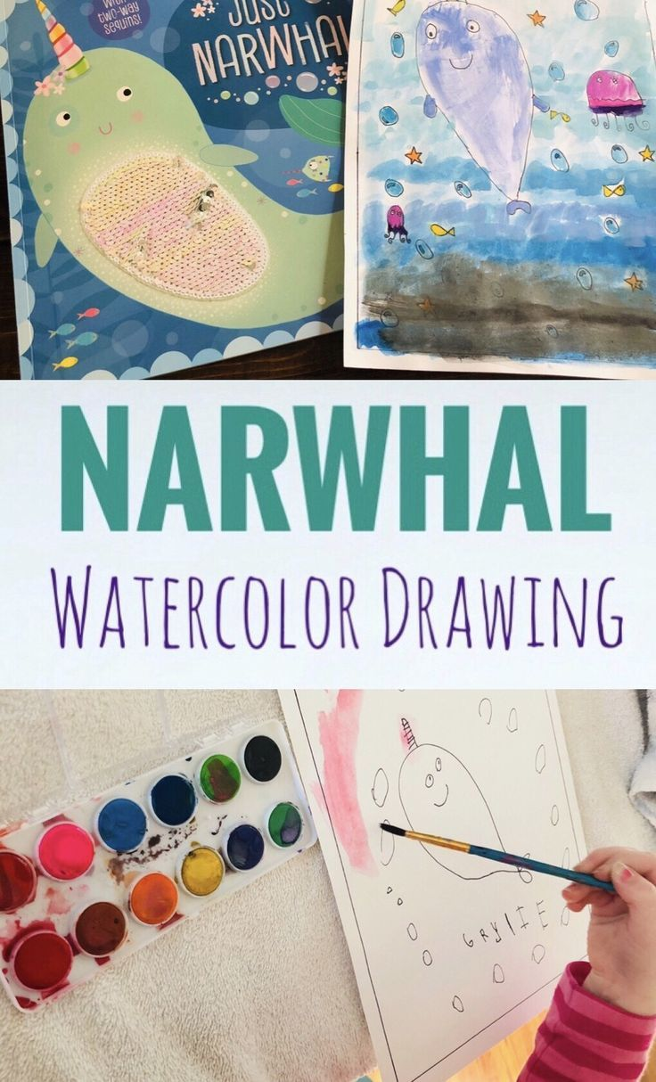 Just Narwhal Book Review And Printable Coloring Page Craft