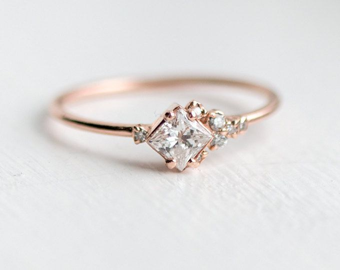 Fabulous Les 25 meilleures idées de la catégorie Bagues en diamant uniques  SH62