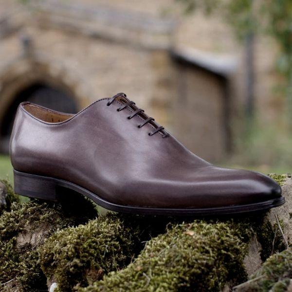 Wholecut Oxford Shoe Brown | Thomas Bird