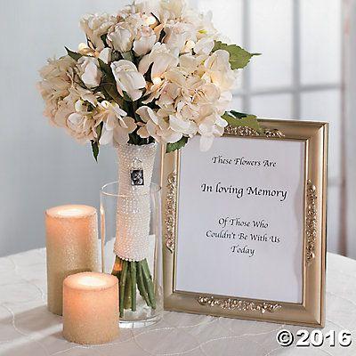 In Loving Memory Wedding Bouquet Idea