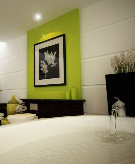 1000+ Ideas About Green Accent Walls On Pinterest