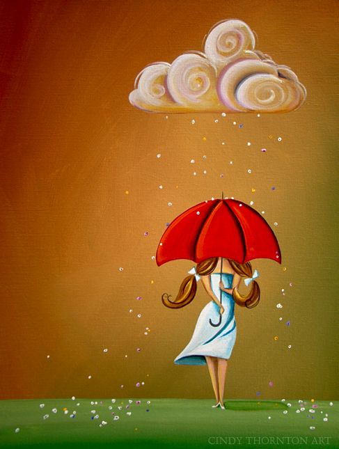 Cindy Thornton - Whimsical Painting