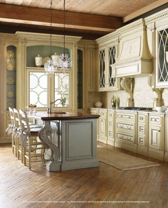 74 best old world kitchens images on pinterest country for Casual kitchen design ideas