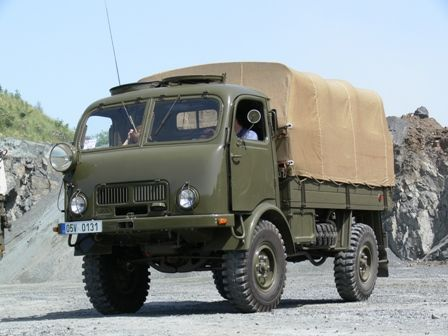 Tatra 805   Staré náklaďáky