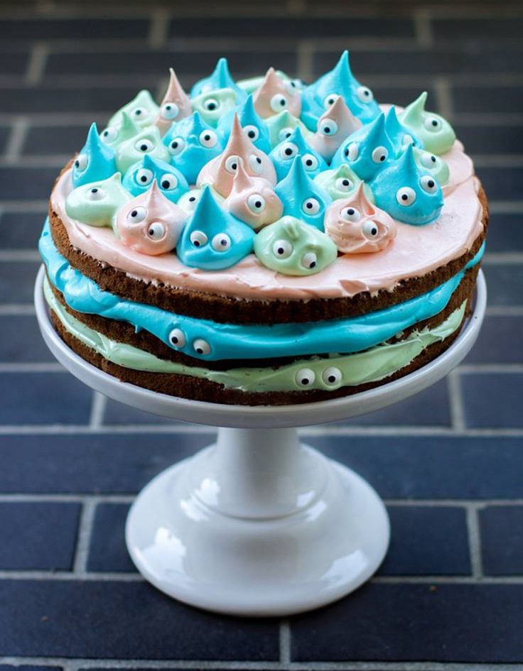 Monster cake / no receipe, inspiration only