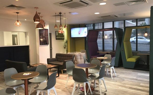 Our common room is brand new after an amazing refurb