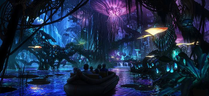 Walt Disney Imagineering in collaboration with filmmaker James Cameron and Lightstorm Entertainment is bringing to life the mythical world of Pandora, inspired by Cameron's AVATAR, at Disney's Animal Kingdom theme park. The awe-inspiring land of floating mountains, bioluminescent rainforests and soaring Banshees will become real for Disney guests to see, hear and touch. Scheduled to open in 2017, the AVATAR-inspired land will be part of the largest expansion in Disney's Animal Kingdom…