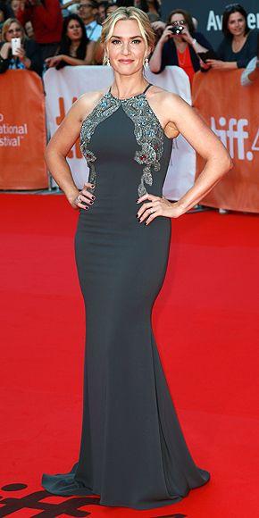 Toronto Film Festival 2015: Kate Winslet in Badgley Mischka