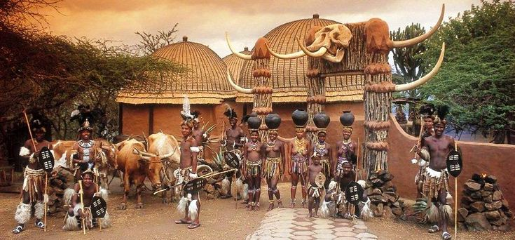 Zulu village near Durban