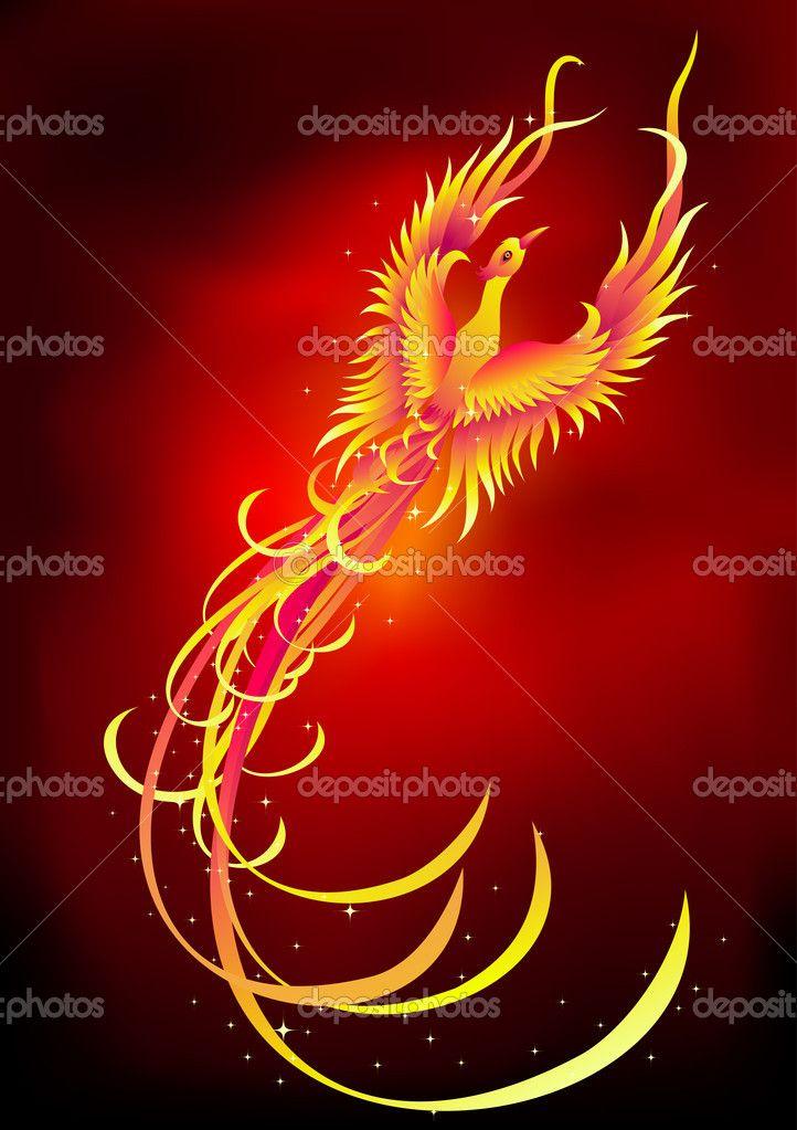 Picture Mythical Phoenix Bird | phoenix bird — Stock Illustration © Surya Ali Zaidan #2895342