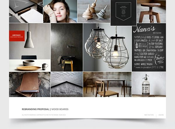 how to create an inspiration board for interior design