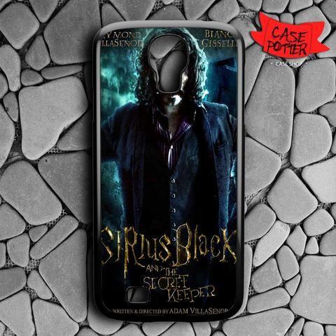 Sirius Black And The Secret Samsung Galaxy S4 Black Case