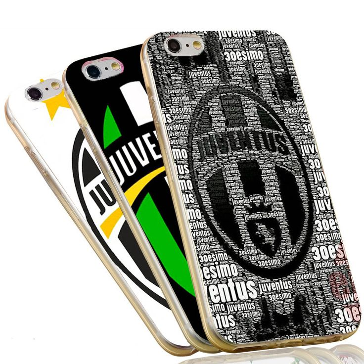 Nice handle JUVENTUS Case Italian Juve FC Soft TPU Phone Cover for iPhone 5S 5 SE 5C 4 4S 6 6S 7 Plus