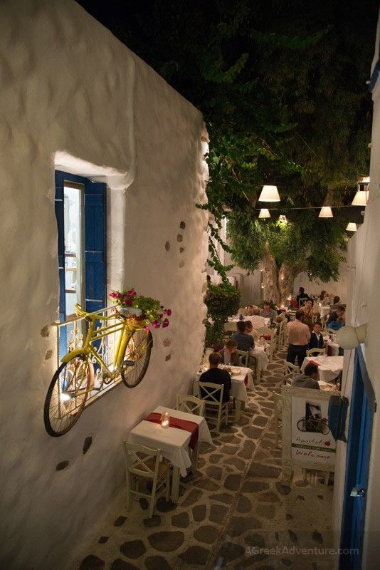 Nightlife Naxos Greece