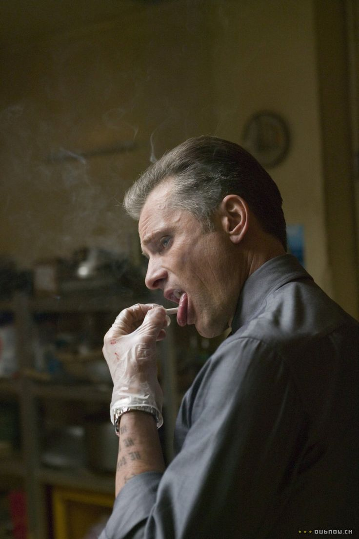 Viggo Mortensen in Eastern Promises.  One of the finest movies I have ever seen.