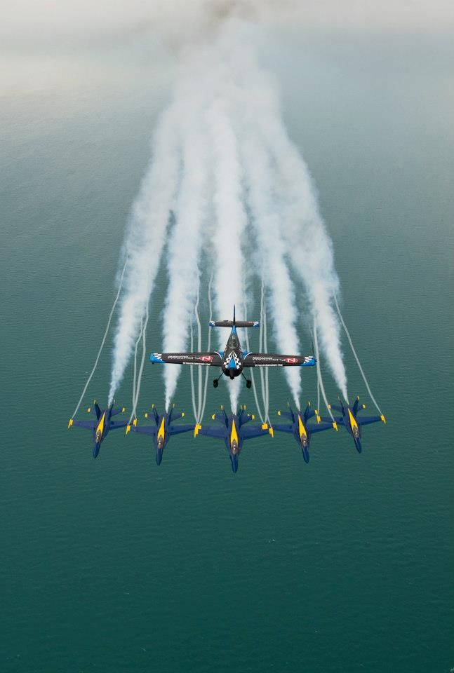 Blue Angels. >>>>Arizona's best AVIATION THEMED RESTAURANT! Tell your friends we'd love to see them visit us at the LEFT SEAT WEST RESTAURANT, Glendale, Arizona!  Check out our Facebook page! http://www.facebook.com/pages/Left-Seat-West-Restaurant/192309664138462