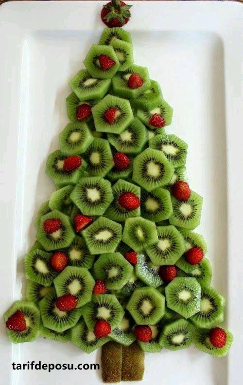 Arbol de Navidad kiwi