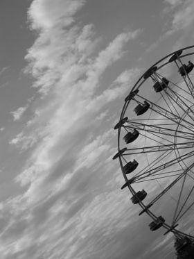 Luna Park - stock photo