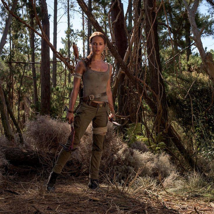 Alicia Vikander as Lara Croft: A First Look at 'Tomb Raider's' Rebooted Style