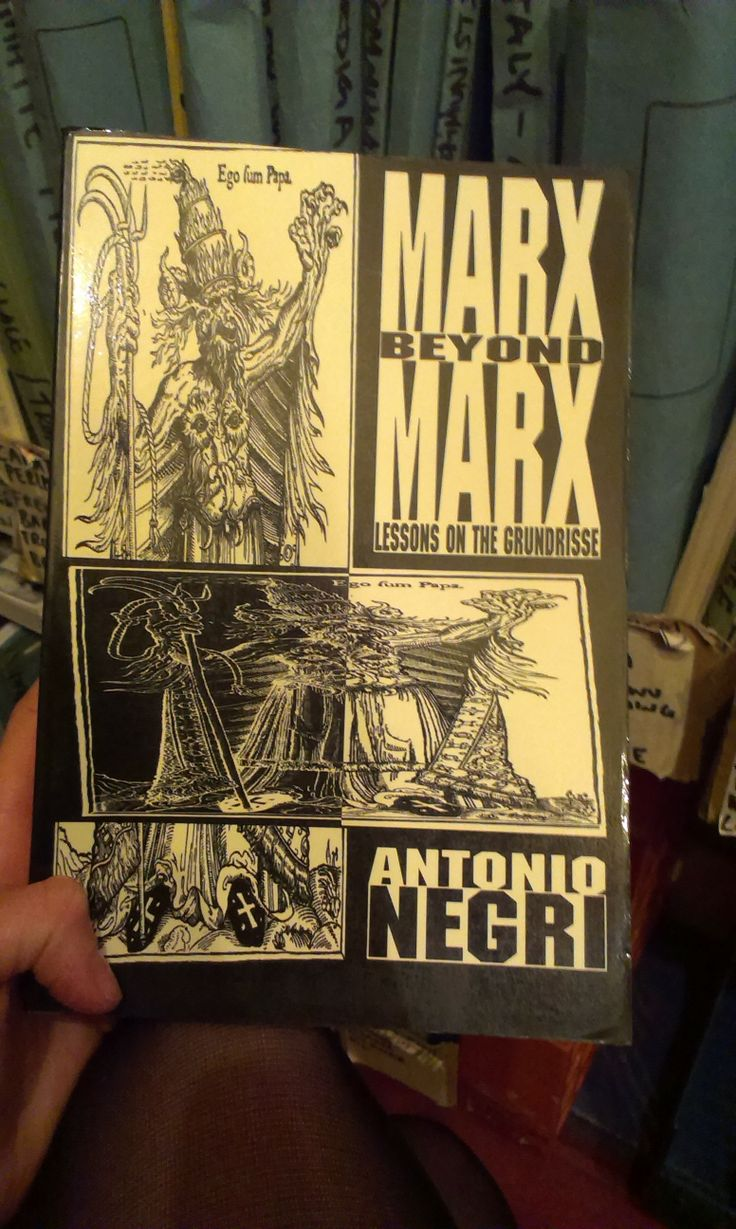 marx beyond marx, lessons on the grundrisse - antonio negri
